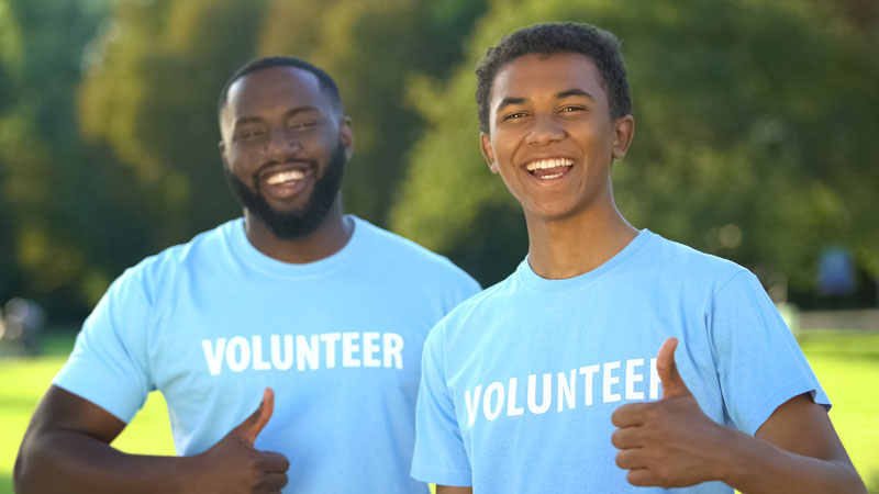 summer camp costs can also be reduced by volunteering