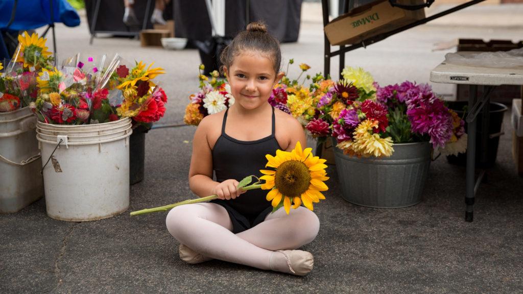 CREO-Arts-and-Dance-girl-with-flowers-SummerFunMN